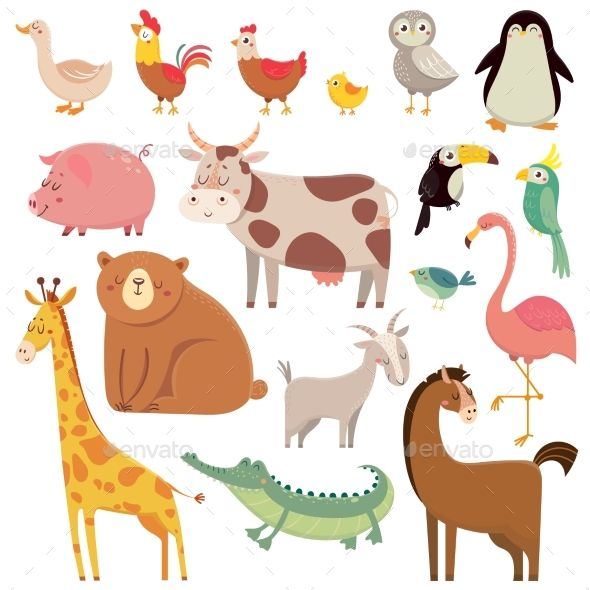 Baby Animal Cartoons Cow Illustration Animal Illustration Kids Cute Cartoon Animals