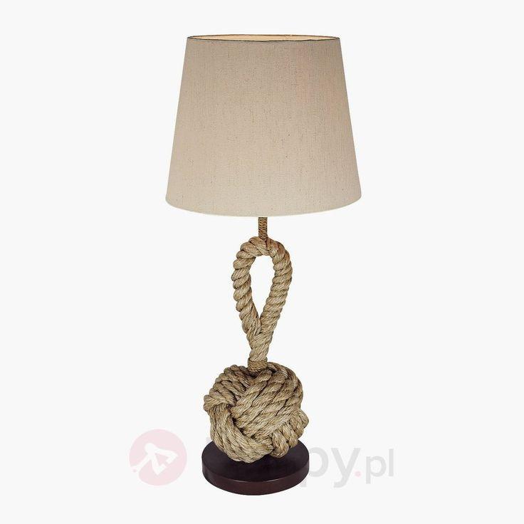 Lampa stołowa Nils w stylu morskim 8553051