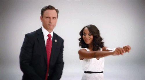 Scandal promo - Olitz dancing