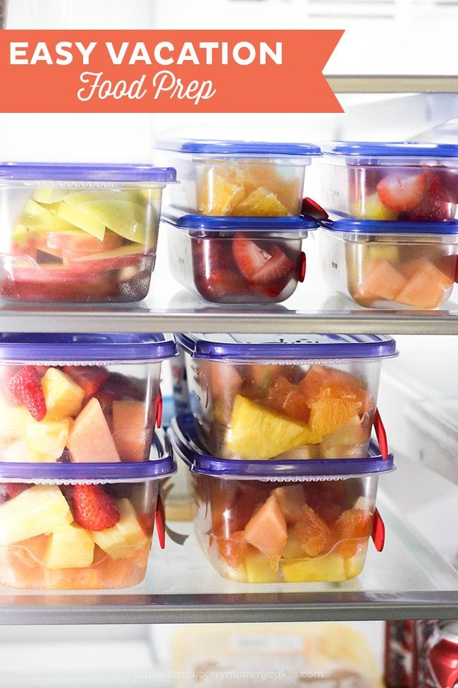 I LOVE getting ready for road trips. Get some of my Vacation Food Prep tips on the blog today! You'll definitely want to save this for later!