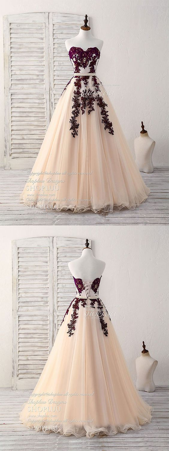 Burgundy sweetheart tulle long prom dress, burgundy evening dress, burgundy bridesmaid dress, wedding party dress