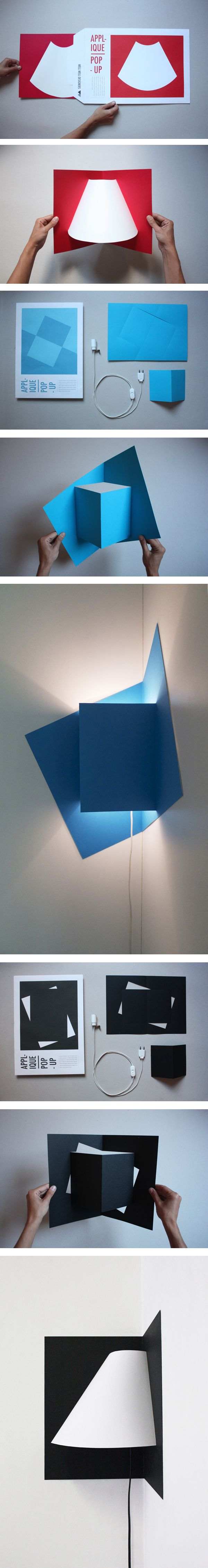 POP UP corner light by Well Well Designers.