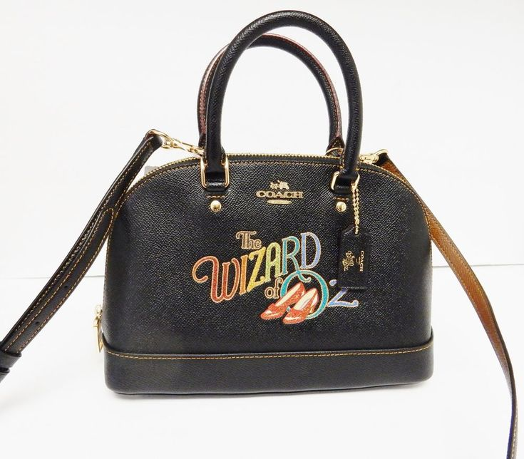 Coach Wizard Of Oz Sierra Satchel Handbag Crossbody Black