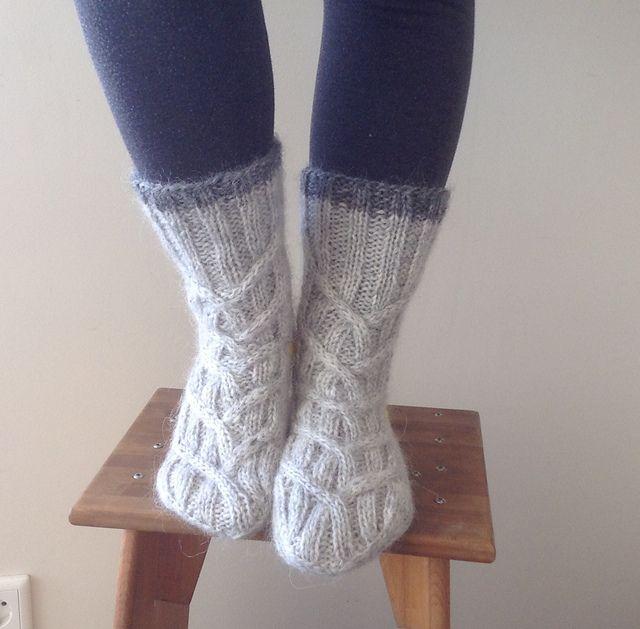 Ravelry: katring's Brezel socks (test)