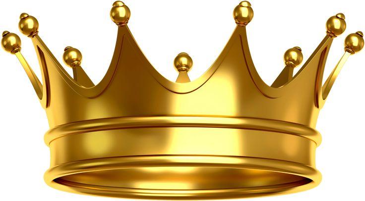 Coroa Dourada 16   Imagens PNG