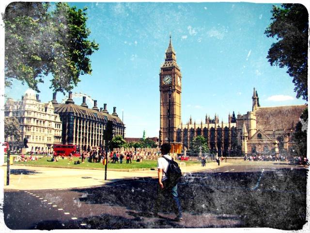 Big ben and Palatului Westminster