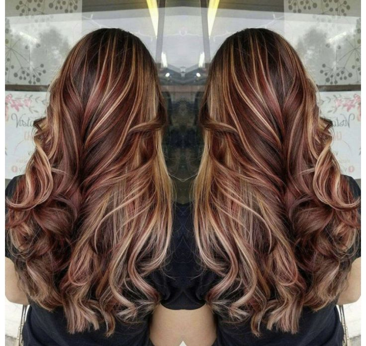 I personally love this red and blonde look. I've been wanting to change my hair and did streaks of red b/c I already have streaks of blonde and I absolutely love it!