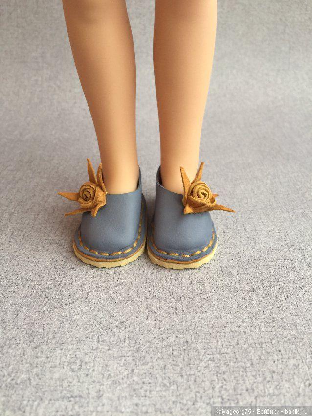 Как сделать туфли для простой куклы фото 218