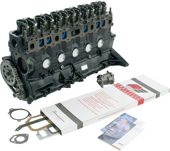 ATK Engines Replacement 4.0L I-6 Engine for 92-95 Jeep® Wrangler YJ, Cherokee XJ, Grand Cherokee XJ & Comanche MJ | Quadratec