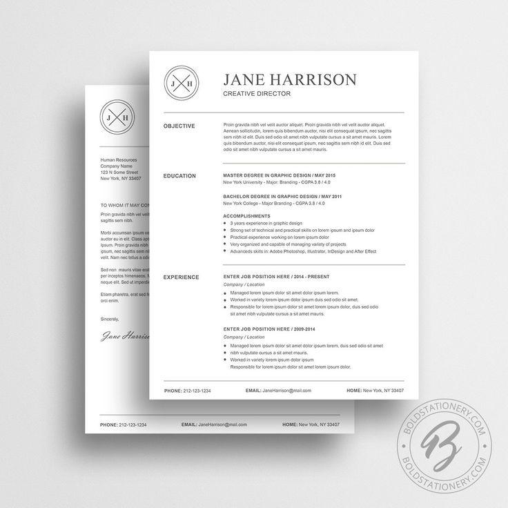 10 best Resume Templates / CV Templates images on Pinterest   Resume ...