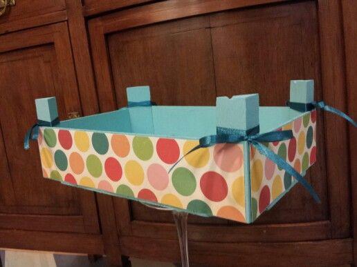 1000 images about cajas de frutas decorada on pinterest - Manualidades con cajas de frutas ...