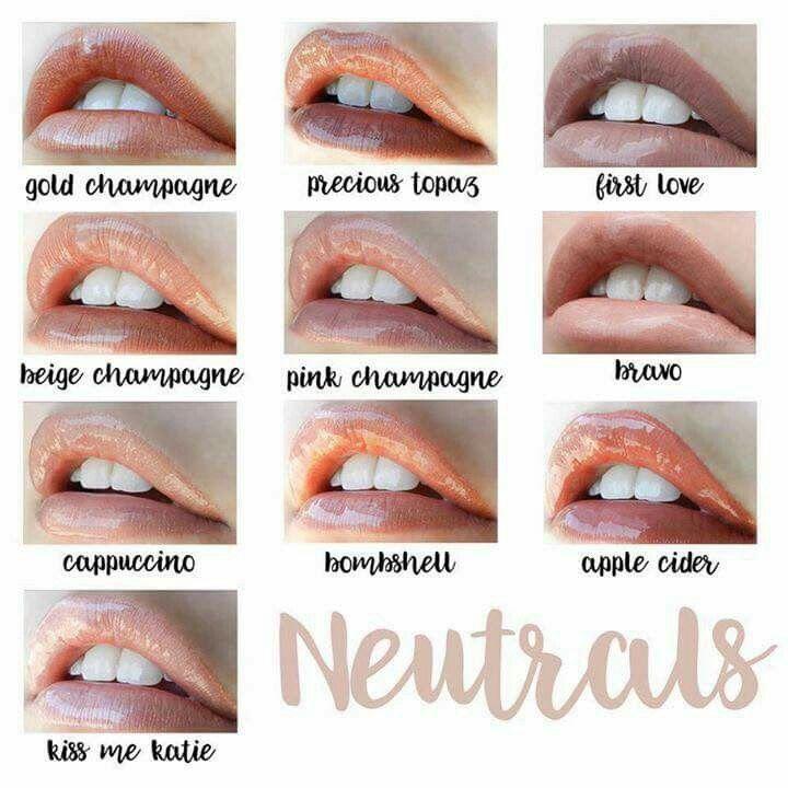 Lipsense color charts neutrals  Contact Me: www.senegence.com Lori Gabbitas Distributor ID #236184 Facebook: Lipstick is Forever by Lori #LipSense #Senegence