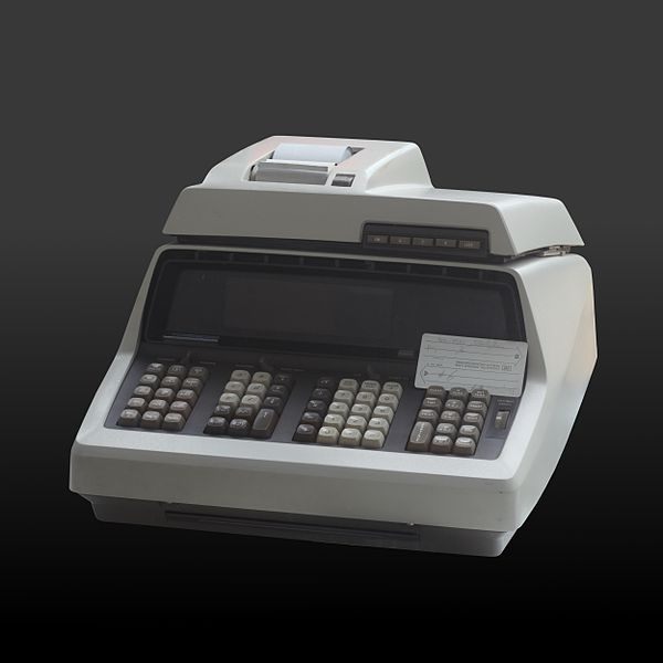 The Hewlett-Packard 9100A is an early computer (or programmable calculator), first appearing in 1968. It caught Steve Jobs' eye and inspired him early on.