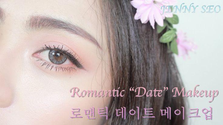 "Romantic ""First Date""  makeup : 로맨틱한 데이트 메이크업 (Korean makeup) Krn Sub"