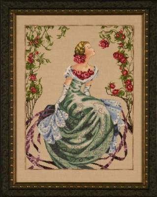 Lady of the Mist by Mirabilia - Cross Stitch Kits & Patterns