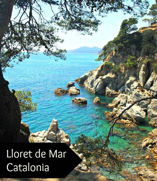 Lloret de mar Catalonia , its reputation for foam parties and stag weekends isn't so great, but we loved what we found in this part of the world..