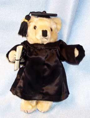 Graduation Teddy Bear Gift by BearFamilyGifts on Etsy