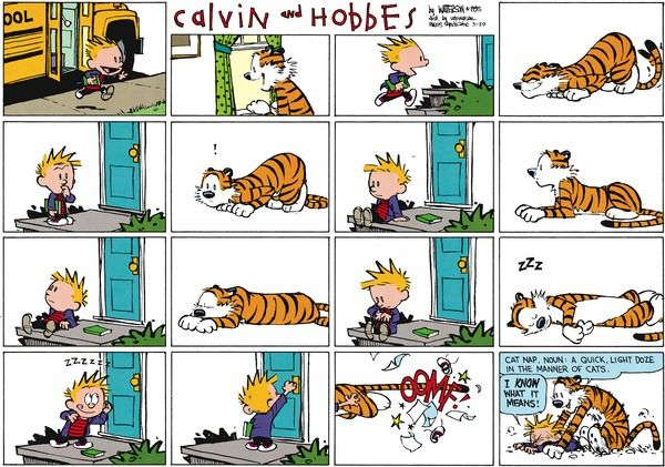 Calvin and Hobbes strip for March 29, 2015