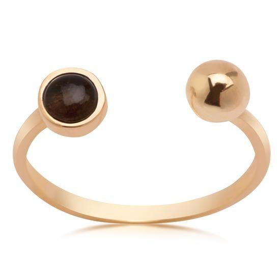 Złoty Pierścionek - Dolce Oro, 599 PLN www.YES.pl/55193-dolce-oro-zloty-pierscionek-ZW-Z-Z14-N00-EN10739 #jewellery #gold #BizuteriaYES #shoponline #accesories #pretty #style