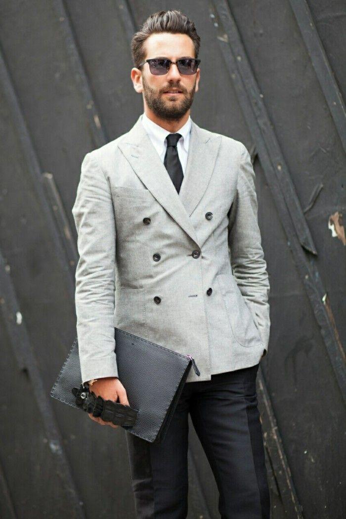 Costume pour homme - les dernières tendances en 50 photos! - Archzine.fr    Homme tenue   Pinterest   Mens fashion, Gentleman Style et Fashion 1d366b70bf3