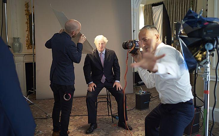 Nadav Kander talks to Cheryl Newman about photographing Boris Johnson