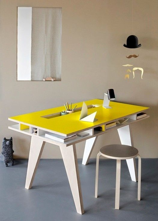25 Best Ideas About Design Desk On Pinterest Office Table Design Office Table And Cable Management
