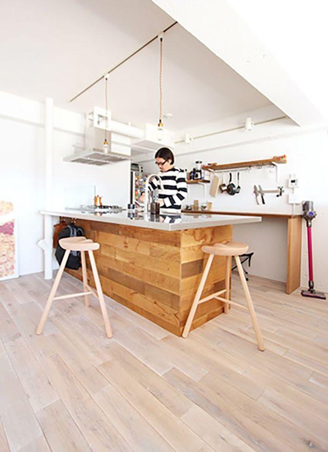 リノベーションで横浜の住まいを手にしたOさんの家は、生活と趣味のバランスをとてもうまく取った家。リノベーションを手がける「nuリノベーション」で紹介されています。写真と自転車が趣味のOさんが選んだのが、横浜市鶴見区にある、築28年のマンションでした。6