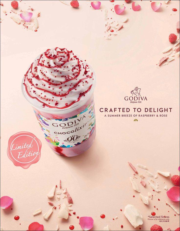 Godiva歡慶90周年驚喜不斷,紅莓碎玫瑰口味凍飲和霜淇淋限量登場 美食甜點-VOGUE時尚網