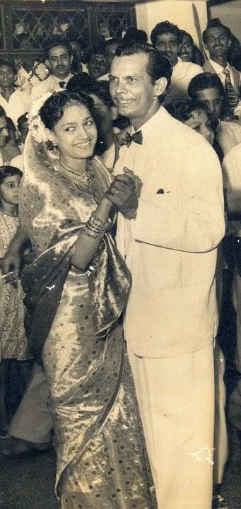 Johnny Walker and Wife
