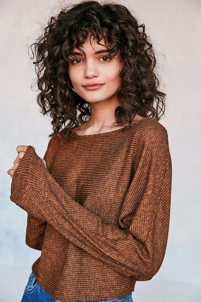 Silence + Noise Andy Dolman-Sleeve Sweater - Urban Outfitters