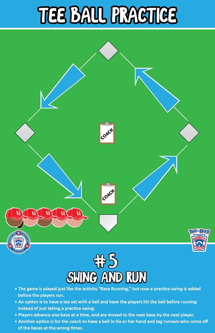 Swing and Run | T-Ball Practice |