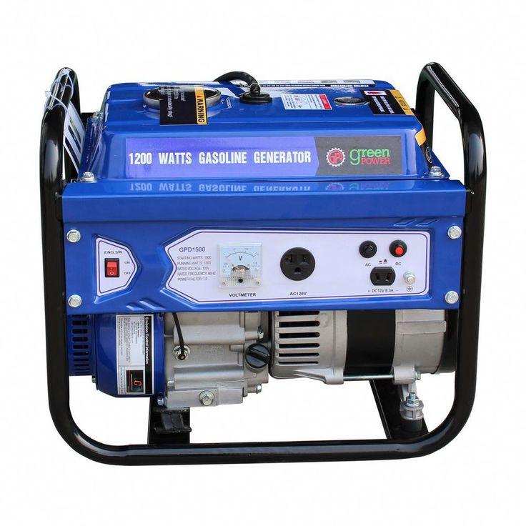 Greenpower green power 15001200watt gasoline powered