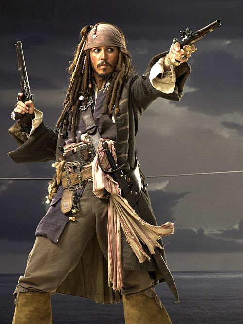 JD ~ Pirates of the Caribbean ♡