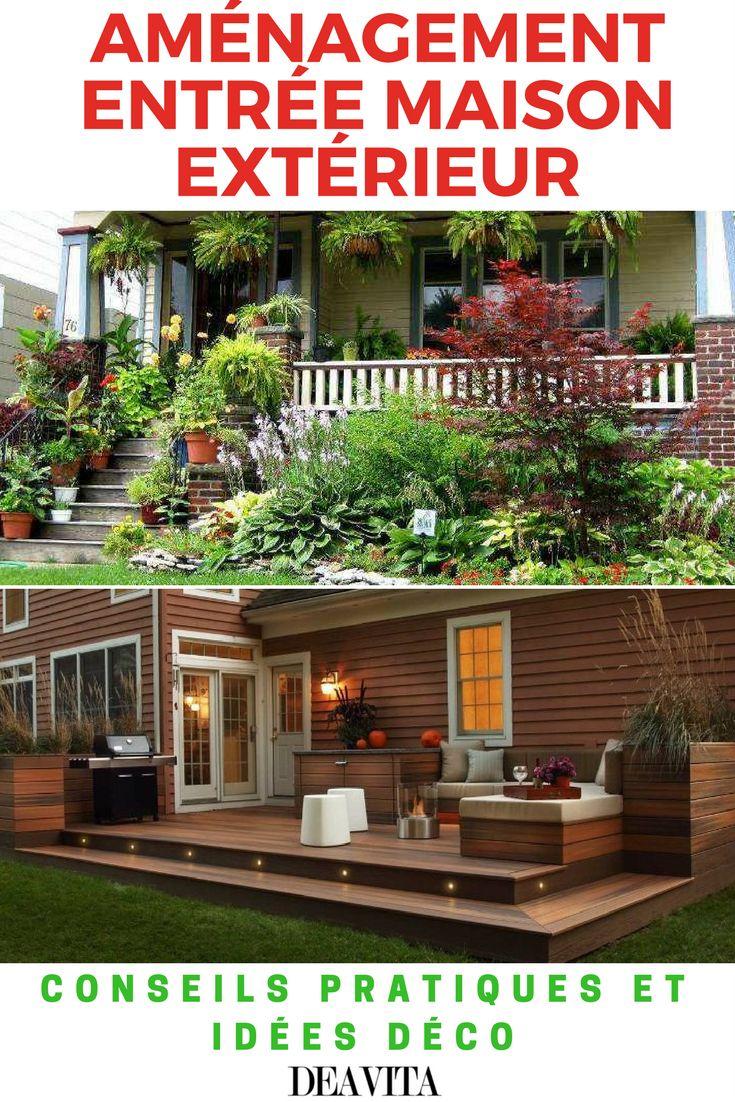 Am Nagement Entr E Maison Ext Rieur Conseils Pratiques Et Id Es D Co Nature Design And Entrees