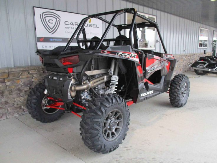 New 2017 Polaris RZR XP® 1000 EPS ATVs For Sale in Minnesota. GET THIS NEW 2017 POLARIS RZR 1000 XP NOW ON SALE FOR A GREAT PRICE AT CAROUSE MOTORSPORTS IN DELANO. Manufacturer allows advertising onl y MSRP. Please call for current price. MSRP on this machine is $ 19,499.00 + $ 750.00 freight, The RZR 1000 XP powered by Polaris twin cylinder Pro Star 1000 engine. Designed specifically for extreme performance, the Polaris ProStar®1000 H.O. engine features 110 horses of High…