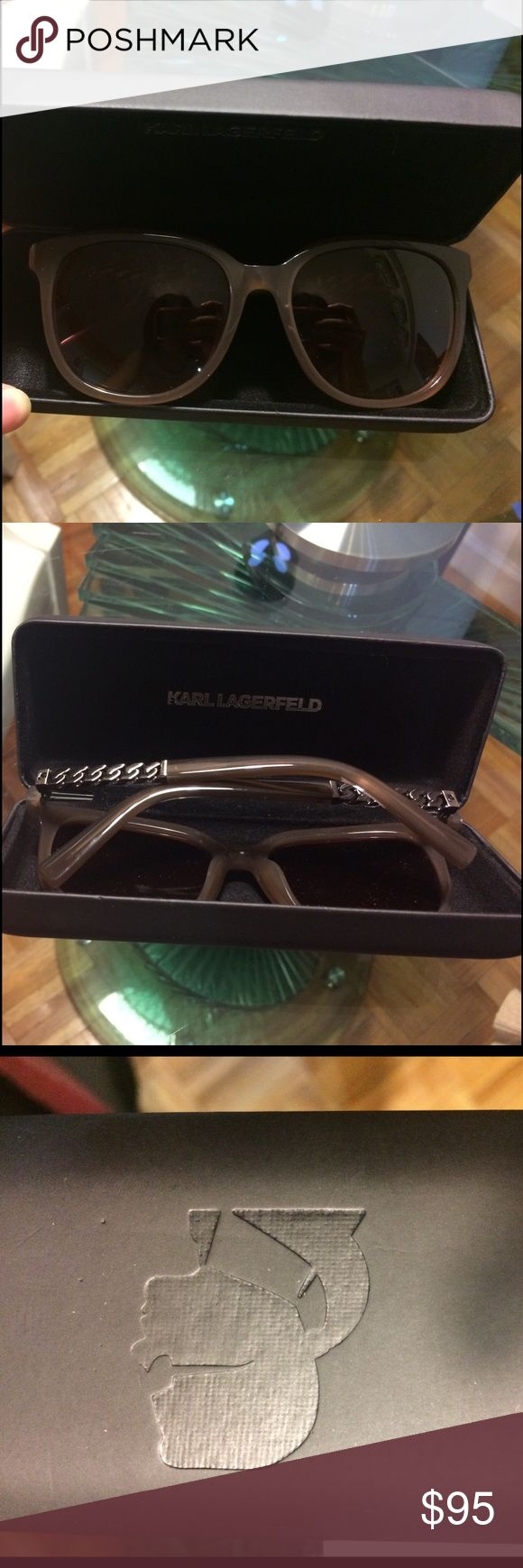Karl Lagerfeld Sunglasses Karl Lagerfeld Sunglasses (model KL 862) - Havana Color Karl Lagerfeld Accessories Sunglasses