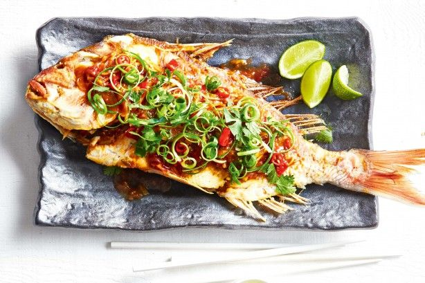 Learn the secret to serving up crispy whole snapper with Marion Grasby.