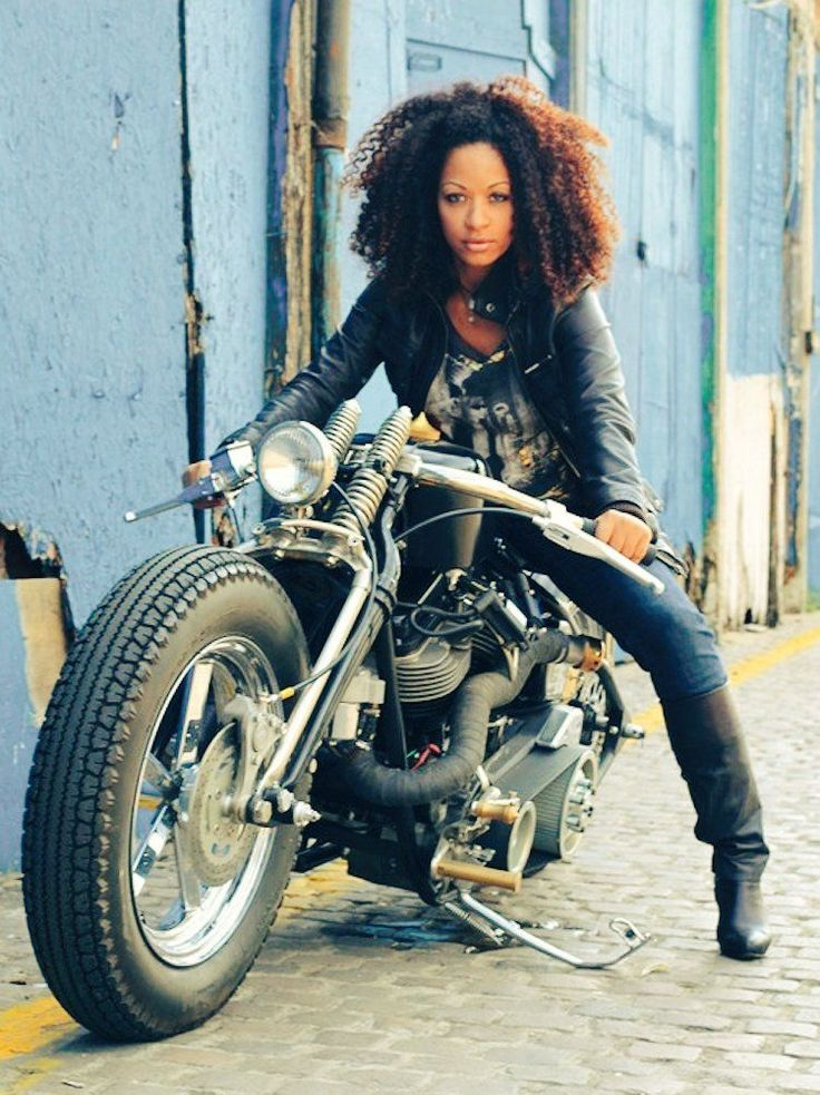 Black Women On Motorcycles Motorsport Etc Py 246 R 228 Ja Mopot