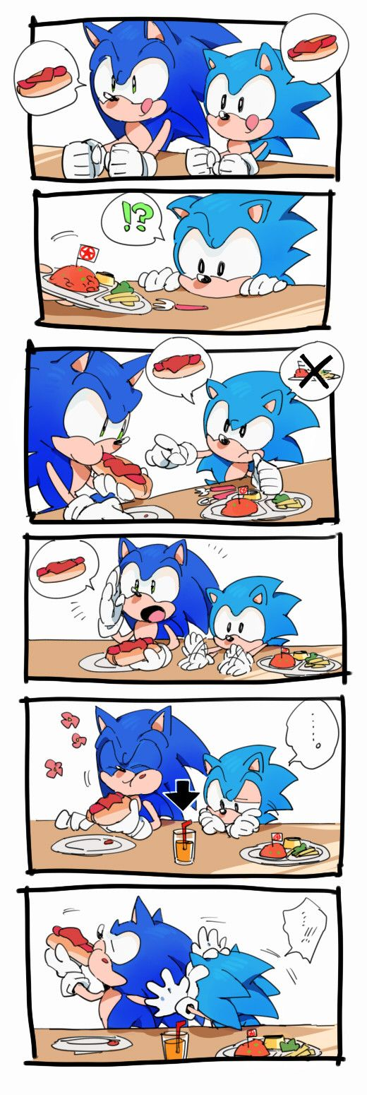 CLASSIC SONIC IS SO ADORABLE