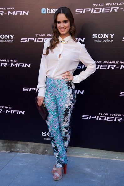"""Alicia Sanz Photos Photos - Actress Alicia Sanz attends """"The Amazing Spider-Man"""" premiere at Callao cinema on June 21, 2012 in Madrid, Spain. - 'The Amazing Spider-Man' Madrid Premiere"""