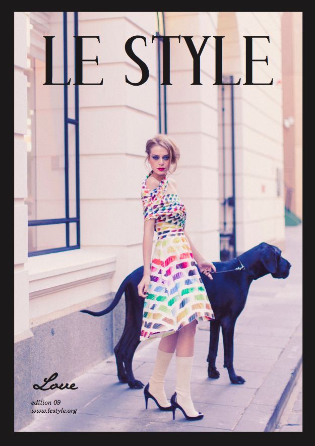 Le Style Magazine  Edition 09 - Love  Now reaching out to millions of readers on iTunes and Google play.   Featuring only the best of unique and divine macaron king, Pierre Herme; fashion illustrator, Kerrie Hess; The Love of City editorial of CHANEL, new & uprising designers at Paris Fashion Week and more. You can also purchase the perforated printed version of this coffee-table mag-book, full of tantalizing images of for that office and home! www.lestyle.org