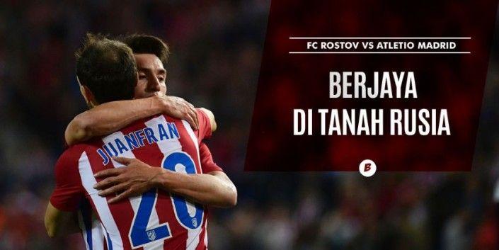 Prediksi FC Rostov vs Atletico Madrid Liga Champions