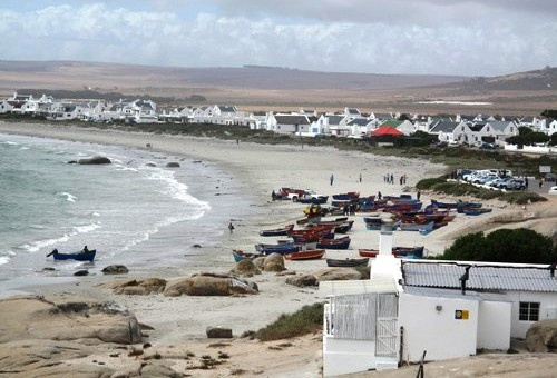 Paternoster. Small fishingvillage close to Cape Town. Would really like to go sometime. Said to be really worth it!