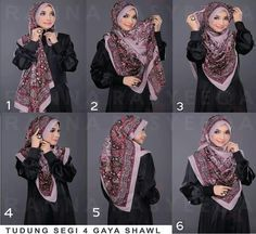 Square hijab tutorial (covering chest)