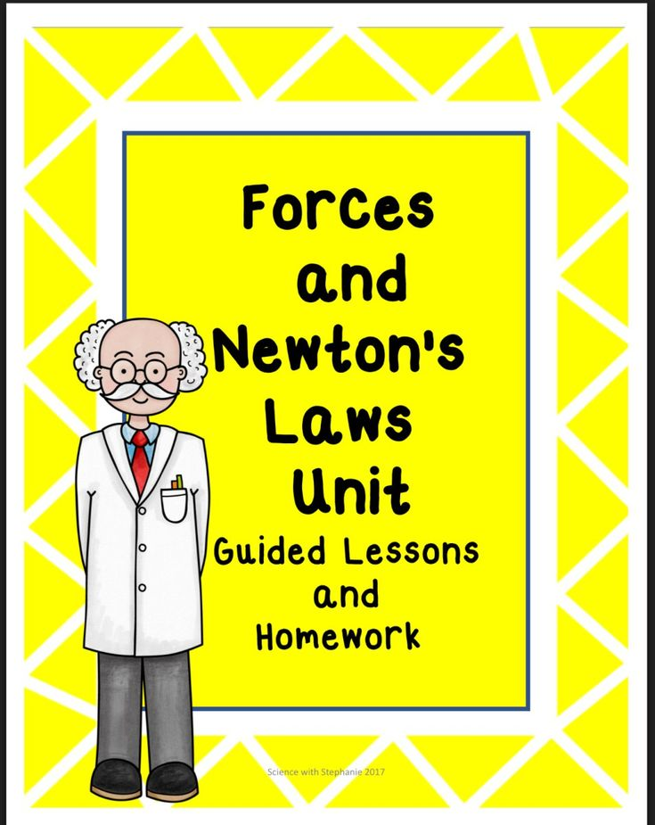Forces and Newton's Laws Unit