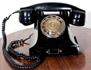 Ericsson T-2 1931 Vintage Bakelite Telephone