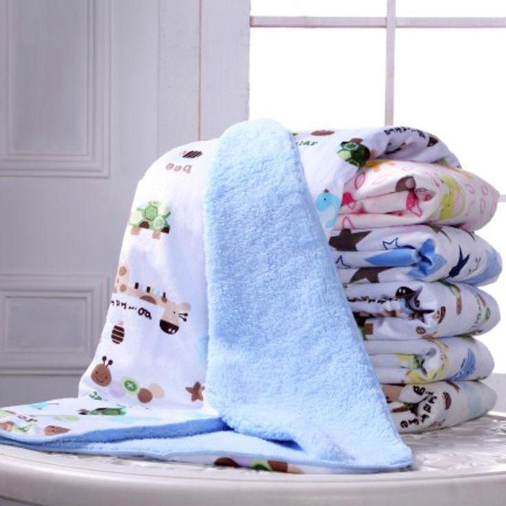 15 styles Baby Blanket Fleece for Newborn Soft Cotton Bedding Girl /Boy Newborn blanket size 76*102