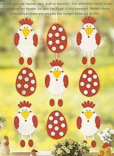 decoration de paques avec gabarit  activités decoupage et collage facile avec gabarit patron poulette et oeuf