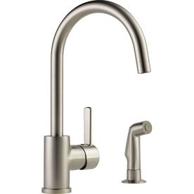 Peerless Apex Stainless 1-Handle Deck Mount High-Arc Kitchen Faucet P199152lf-Ss