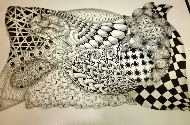 Kresba Zentangle